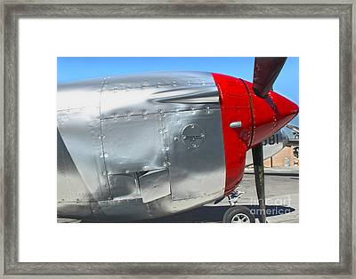 Lockheed P-38l Lightning Honey Bunny  - 08 Framed Print by Gregory Dyer