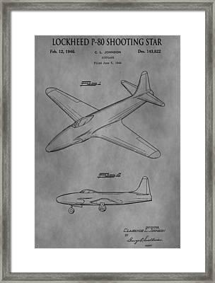 Lockheed Patent Framed Print
