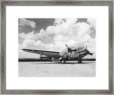 Lockheed Ventura B-34 Framed Print by Underwood Archives