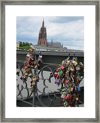 Locks Of Love 2 Framed Print
