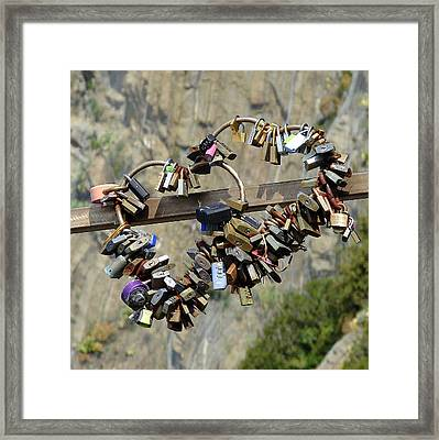Locks Of Love Framed Print