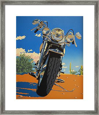 Loco Motion Framed Print