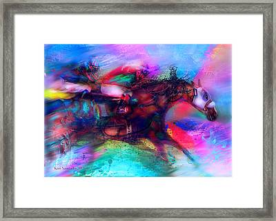Locommotion Framed Print