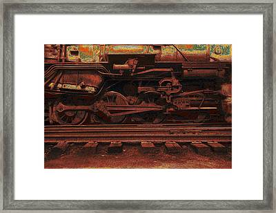 Locomotion 2 Framed Print by Jack Zulli