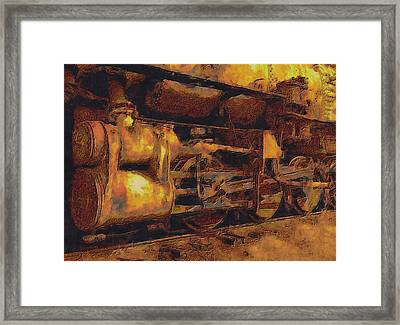 Locomotion Framed Print by Jack Zulli