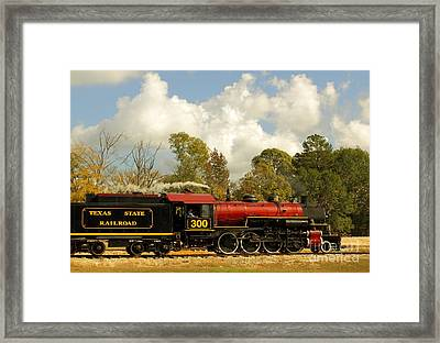 Locomotion Framed Print by Robert Frederick