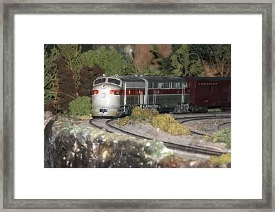 Locomotive 1103 Framed Print by Hugh McClean
