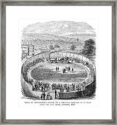 Locomotive, 1808 Framed Print
