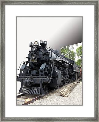 Locomotive 639 Type 2 8 2 Out Of Bounds Framed Print by Thomas Woolworth