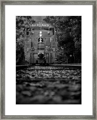 Locomotive 7738 Framed Print