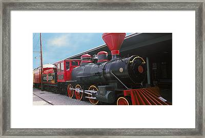 Locomotive At The Chattanooga Choo Framed Print by Panoramic Images