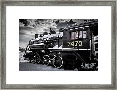 Locomotive Framed Print by David Rucker