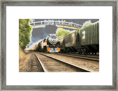 Locomotive Engine 4449 Framed Print by Rich Collins