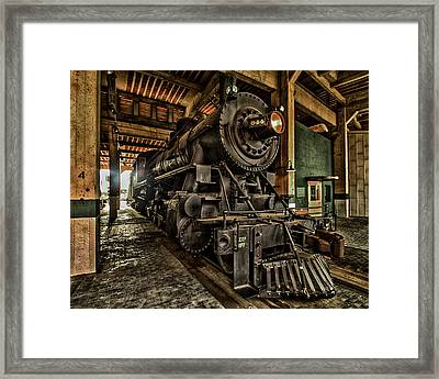 Locomotive Framed Print