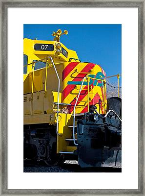 Locomotive Number 07 Framed Print