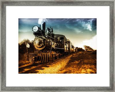 Locomotive Number 4 Framed Print