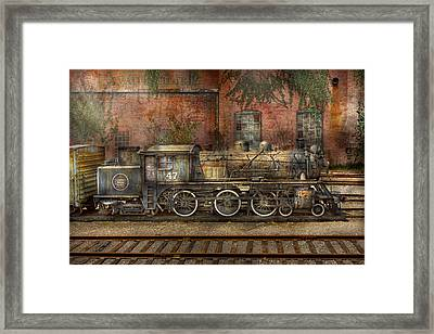 Locomotive - Our Old Family Business Framed Print by Mike Savad