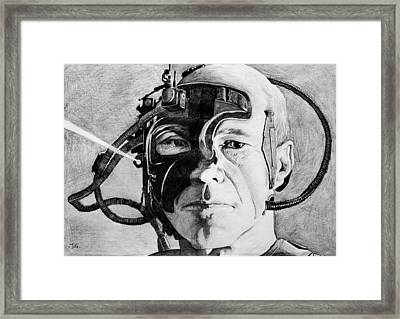 Locutus Framed Print by Judith Groeger