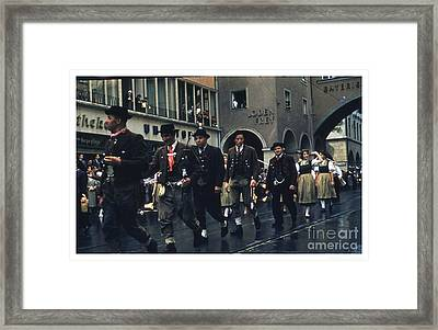 Loden Frey Parade Framed Print by Theo Bethel