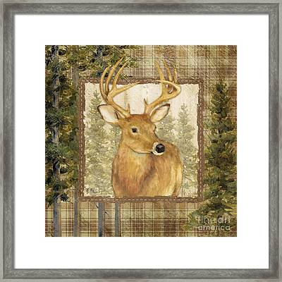 Lodge Portrait I Framed Print by Paul Brent