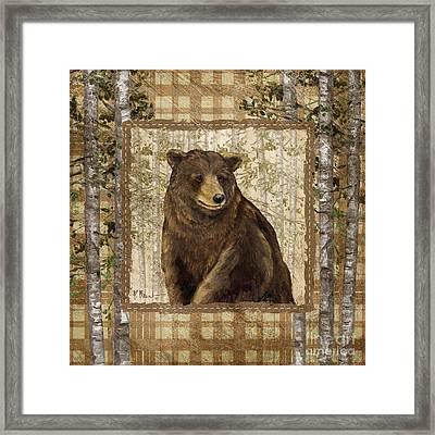 Lodge Portrait II Framed Print by Paul Brent