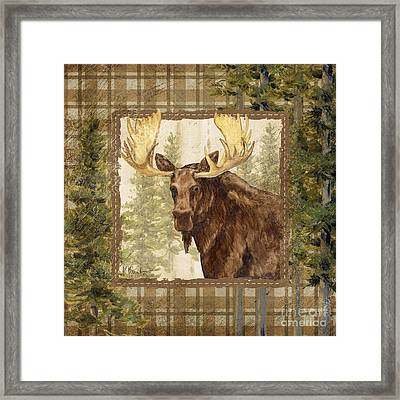 Lodge Portrait Iv Framed Print by Paul Brent