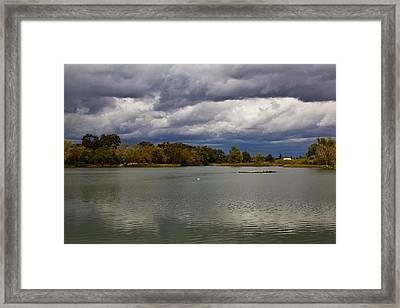 Lodi Lake Framed Print by Randy Bayne