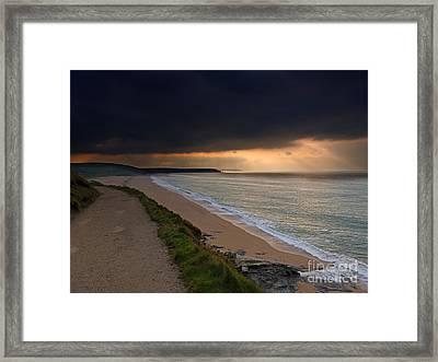 Loe Bar Cornwall Framed Print