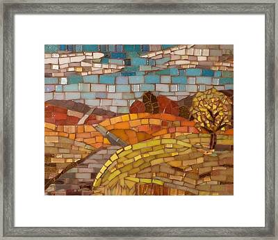 Loess Hills Framed Print by Julie Mazzoni