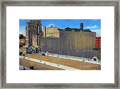 Loew's Jersey Theatre In Jersey City N J Around 1930 Framed Print