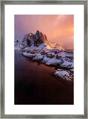 Lofoten Landscape Framed Print