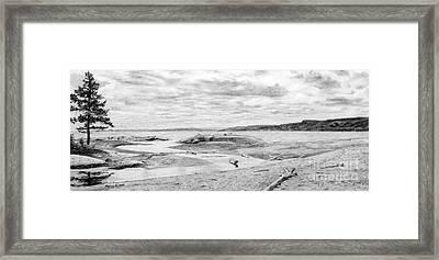 Lake Superior, Creek Minor Framed Print