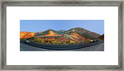 Logan Canyon Framed Print