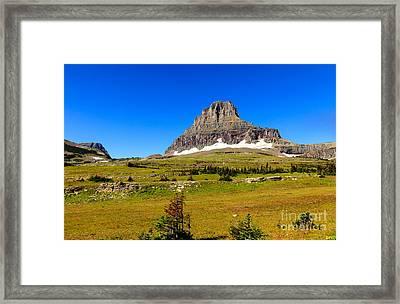 Logan Pass Framed Print by Robert Bales