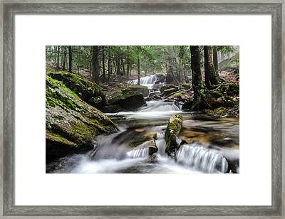 Logan Run Waterfall 4 Framed Print by Anthony Thomas