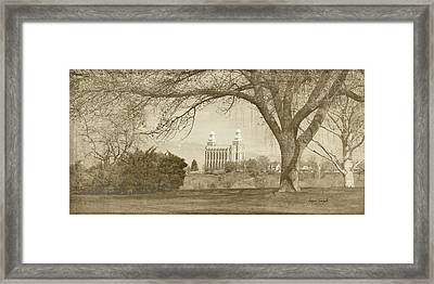 Logan Temple II Framed Print by Ramona Murdock