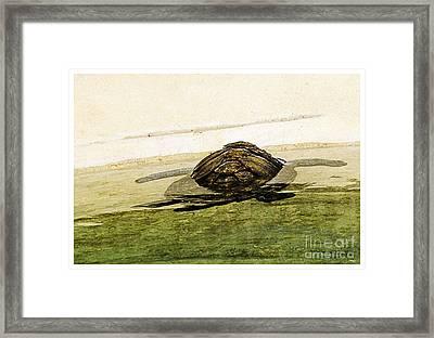 Logger Framed Print by Theo Bethel