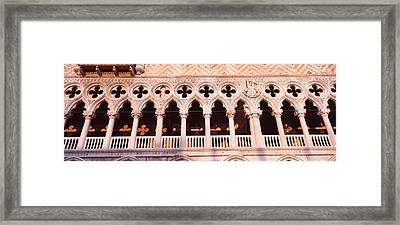 Loggia, Doges Palace, Venice, Italy Framed Print by Panoramic Images