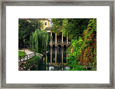 Loggia Valmarana On The Seriola Framed Print