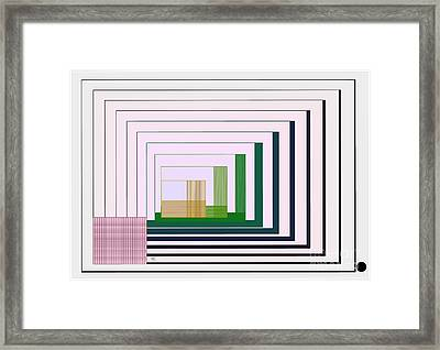 Logical Record Framed Print