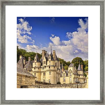 Loire Valley Chateau Usse Framed Print by Colin and Linda McKie