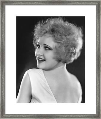 Lola Lane, Ca. 1929 Framed Print by Everett