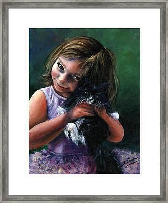 Lola Framed Print by Sarah Farren