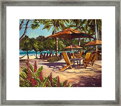 Lola's In Costa Rica Framed Print