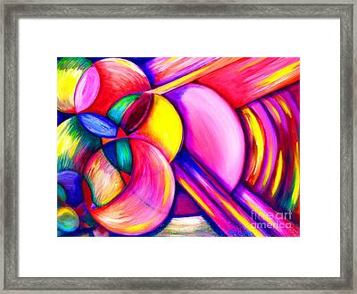 Lollipop Framed Print by Ruben Archuleta - Art Gallery