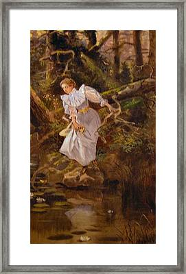 Lolly Framed Print by Charles Russell