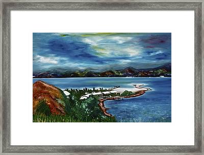 Loloata Island Framed Print