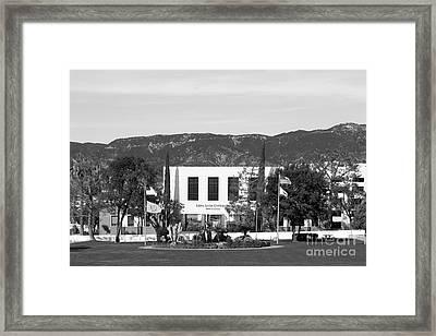 Loma Linda University Prince Hall Framed Print by University Icons