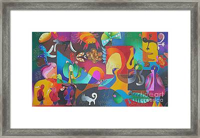 Lomani's World Framed Print