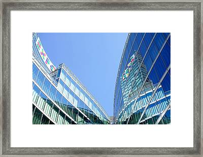 Lombardy Building Framed Print by Valentino Visentini
